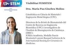 """""""Biomaterials per a la medicina del futur"""", conferència inaugural de la Dra. Maria Pau Ginebra al FEMSTEM de la UdG"""