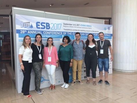 Membres del grup BBT presenten treballs a la 28th Annual Conference of the European Society for Biomaterials (ESB)