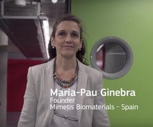 Maria Pau Ginebra, Directora del BBT, finalista al Prize for Women Innovators de la UE
