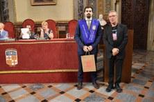 Iván Sánchez Campillo, estudiant del BBT, rep el Tercer Premi al millor TFG en Química per la Societat Catalana de Química