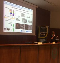 """Joanna Sadowska, representant de la UPC en el Concurs """"Tesi en 4 minuts"""""""