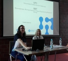 "Noelia Aparicio, Gestora de Projectes del BBT, a l'Erasmus Staff Training Week ""Soft Skills in the International Setting"""