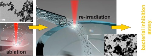 RE-irradiation of silver nanoparticles obtained by laser ablation in water and assessment of their antibacterial effect.jpg