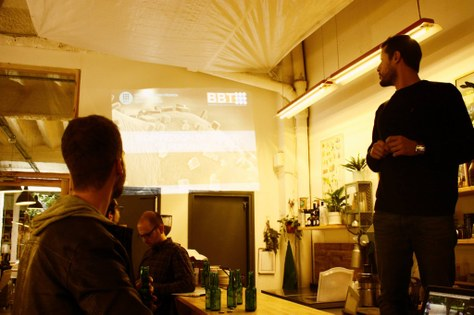 Dr Giuseppe Scionti and 3D bioprinting at the FabMeetup #11: Innovative Bio Technologies with CREB-UPC