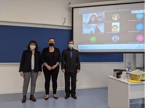 Èlia Vidal presents her PhD Thesis