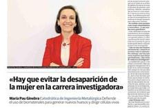 Prof. Maria Pau Ginebra's interview
