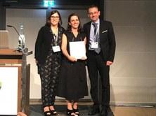 Prof. Maria Pau Ginebra, awarded with the prestigious Klaas de Groot Award