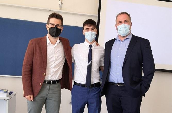 Carles Mas-Moruno, Joaqum Miguela y Joan Josep Roa